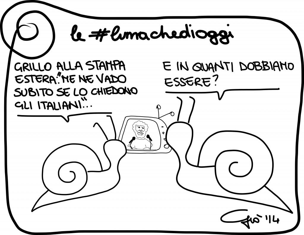 #lumachedioggi di Giovanni Laccetti del 24.1.2014