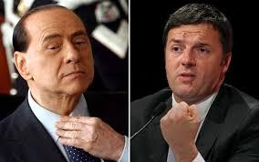 forza italia berlusconi e renzi per le riforme