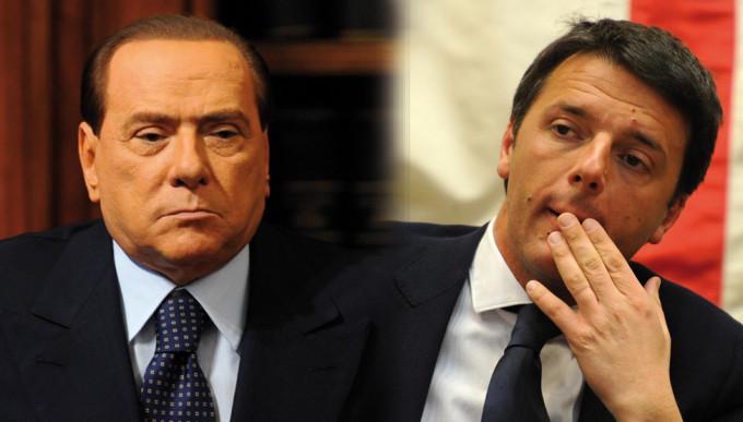 Renzi Berlusconi oggi terzo incontro