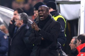 Seedorf in panchina