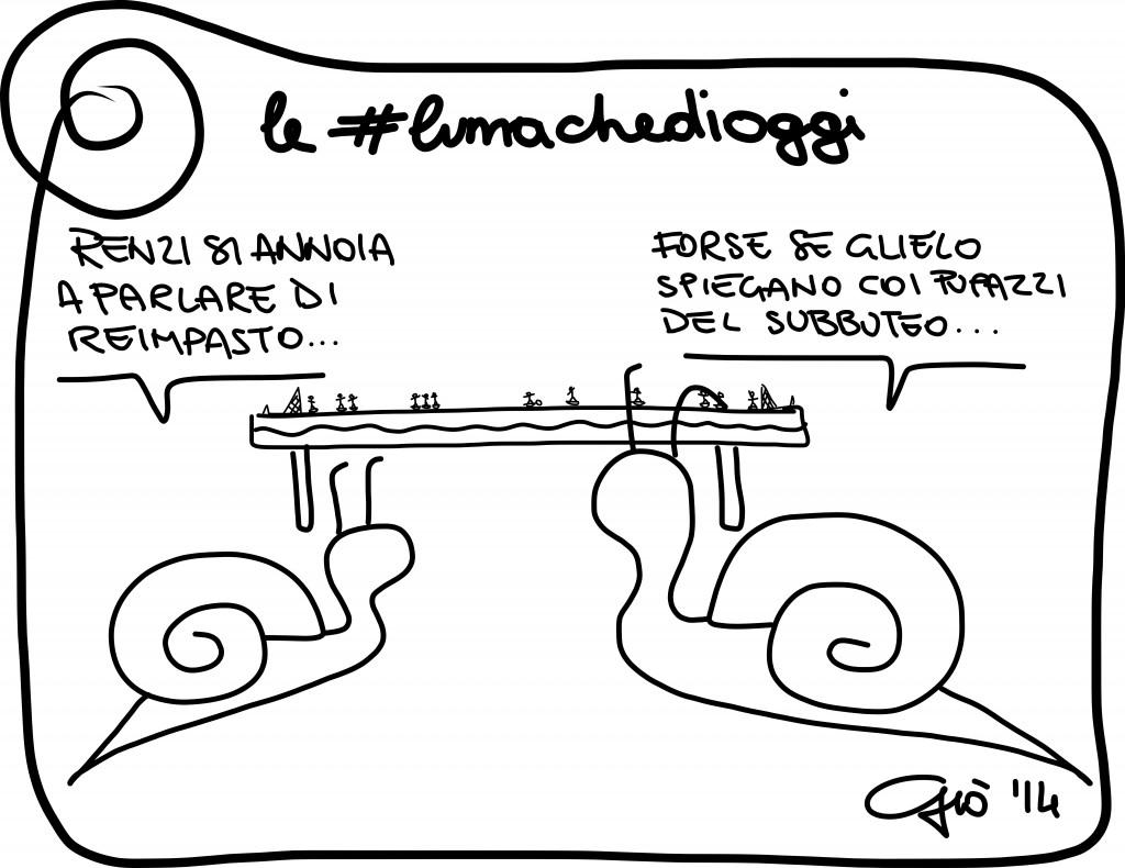 #lumachedioggi di Giovanni Laccetti del 14.1.2014