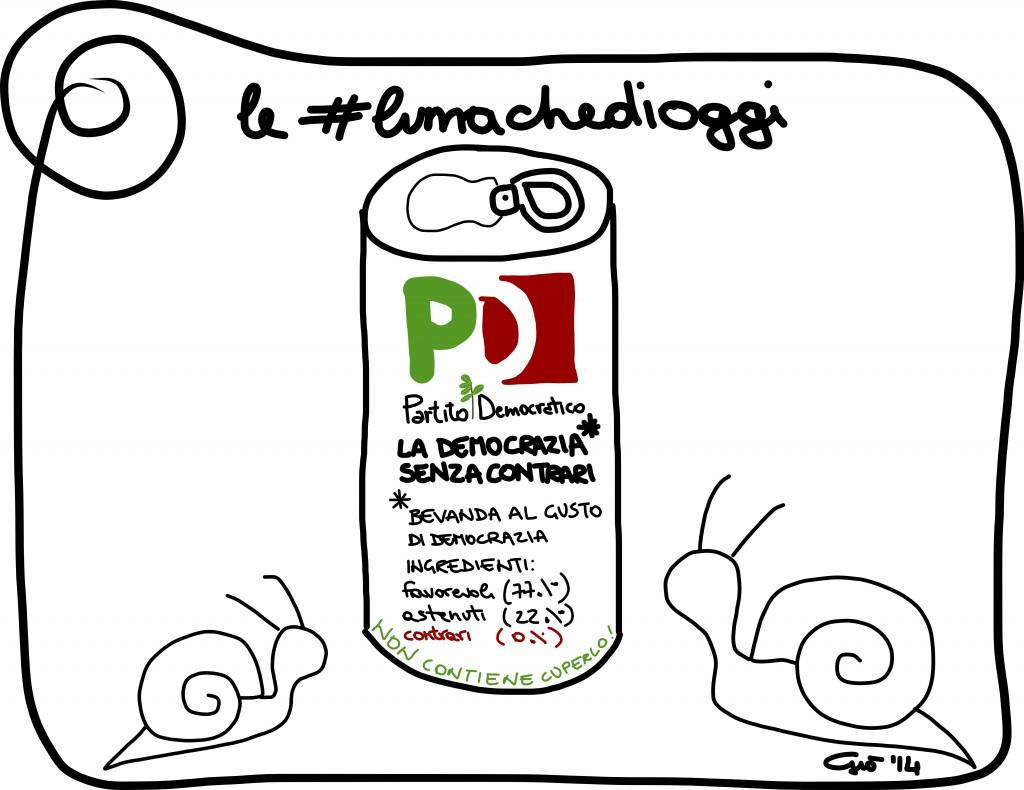 #lumachedioggi di Giovanni Laccetti del 23.1.2014