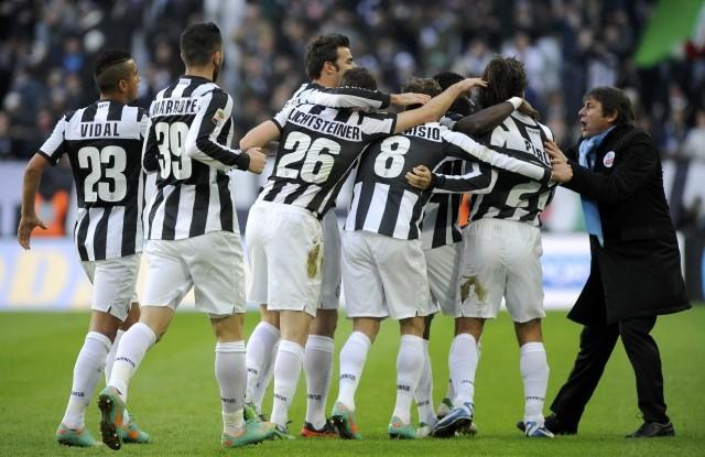 Juventus festeggia