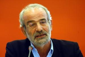 Alekos Alavanos, predecessore di Tsipras alla guida di Syriza