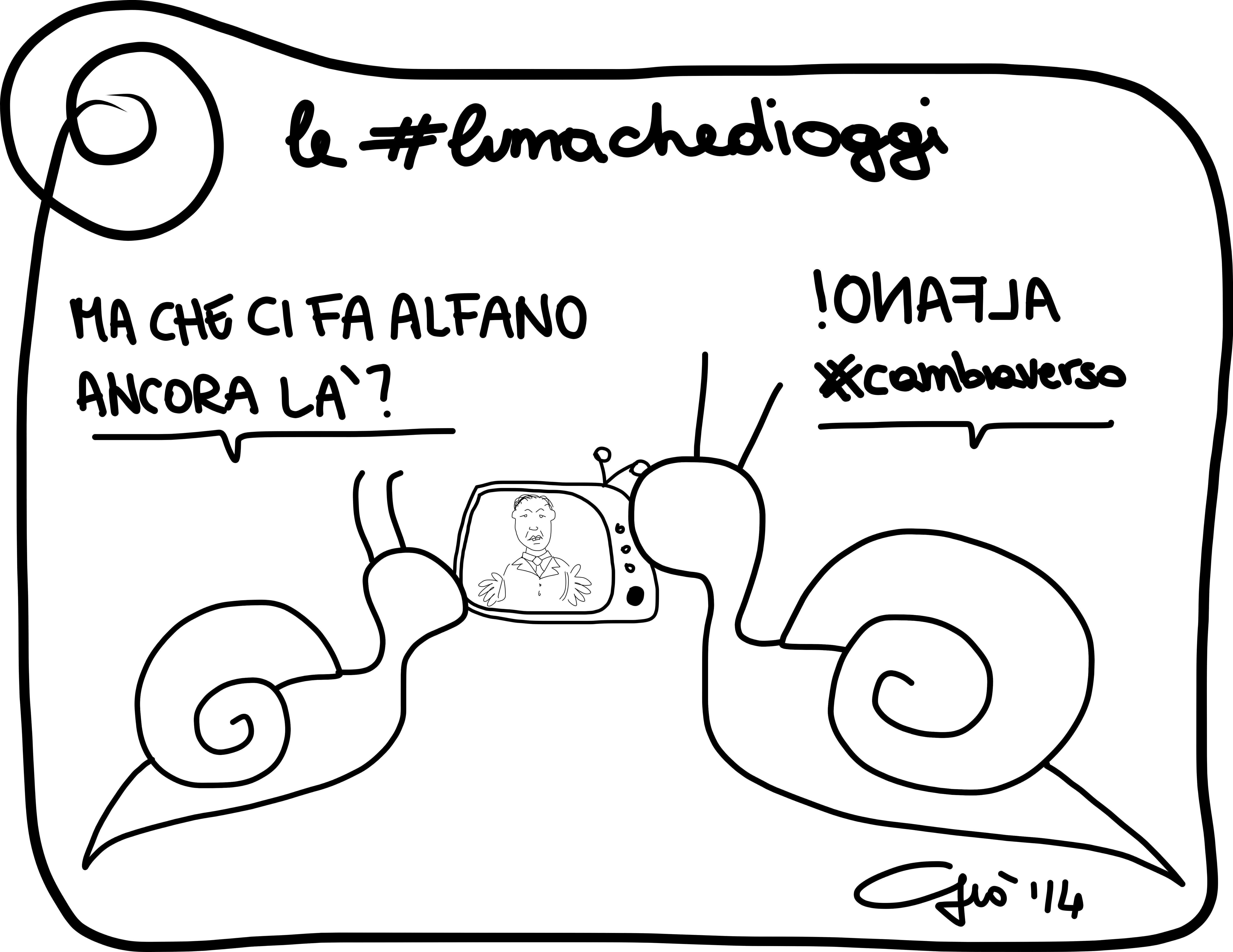 #lumachedioggi di Giovanni Laccetti del 22.2.2014