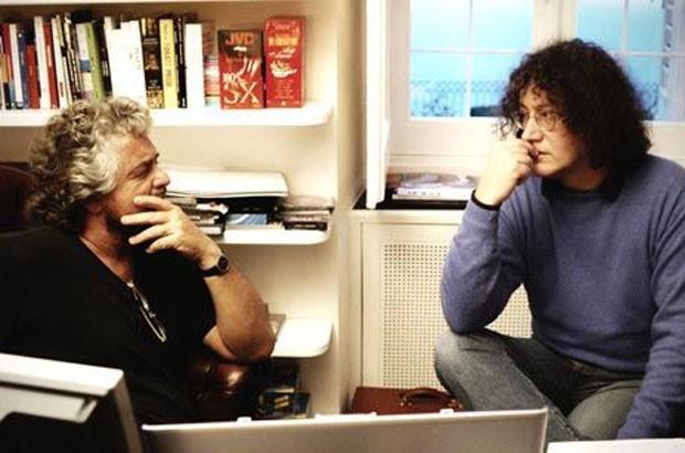 Grillo e Casaleggio, i due fondatori del M5S