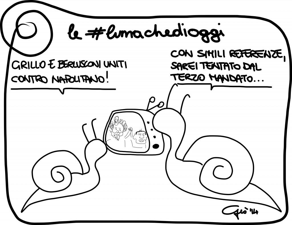 #lumachedioggi di Giovanni Laccetti del 11.2.2014
