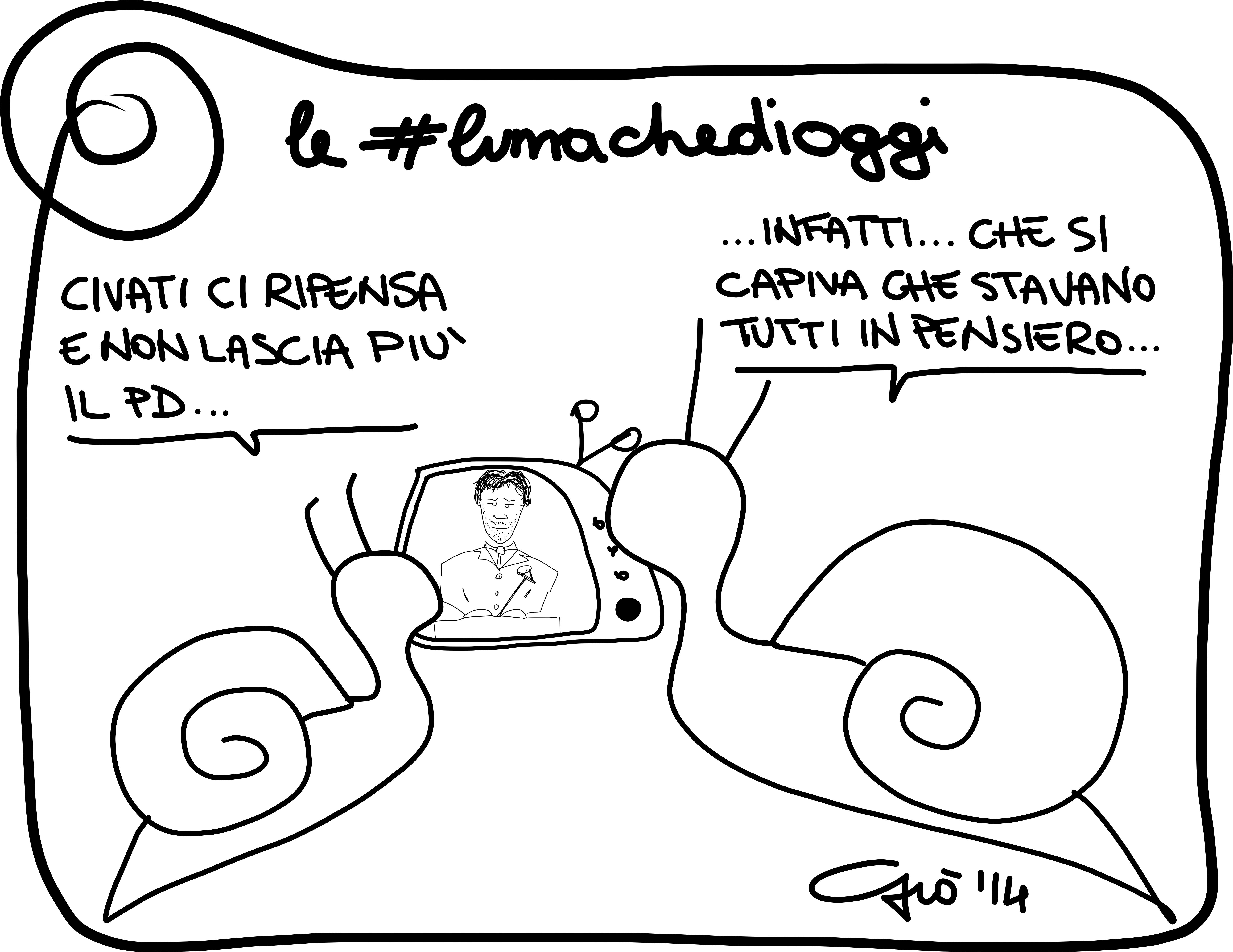 #lumachedioggi di Giovanni Laccetti del 24.2.2014