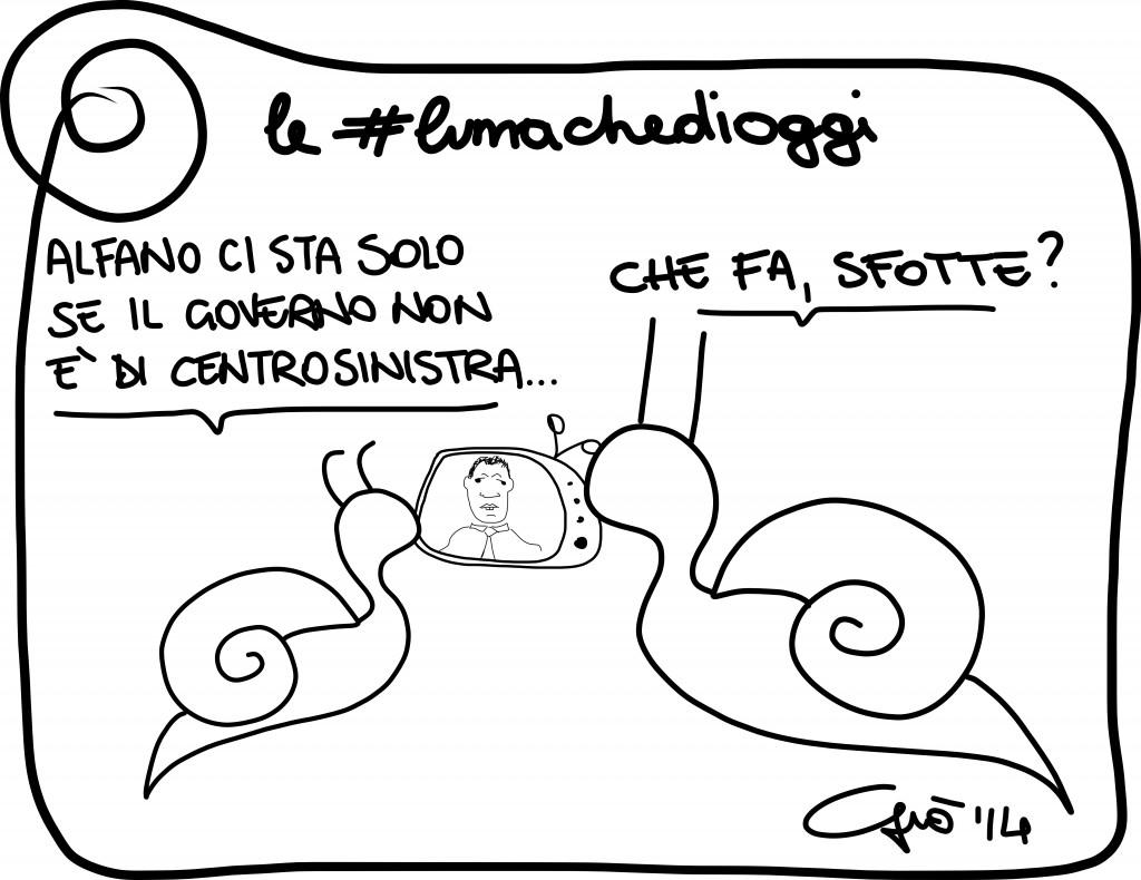 #lumachedioggi di Giovanni Laccetti del 14.2.2014