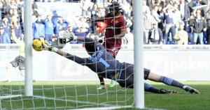 Il gol annullato a Gervinho nel derby della capitale