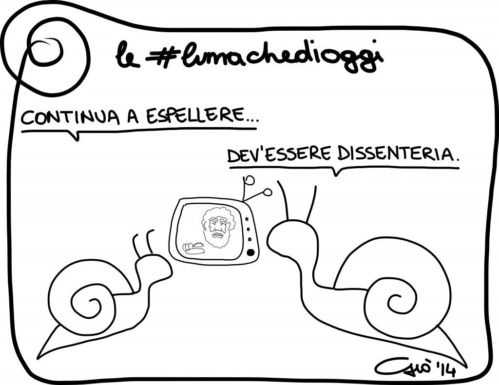 #lumachedioggi di Giovanni Laccetti del 27.2.2014