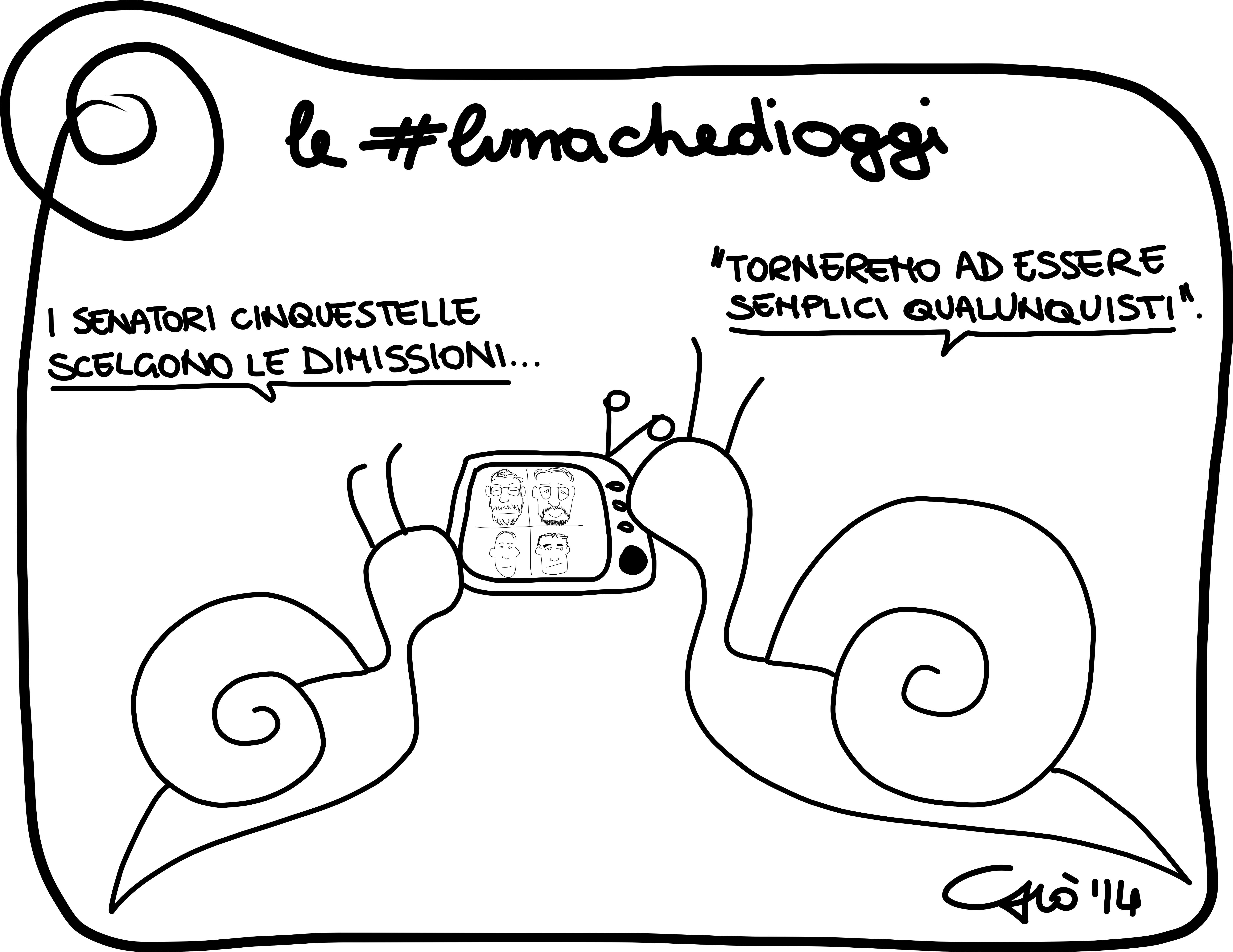 #lumachedioggi di Giovanni Laccetti del 28.2.2014