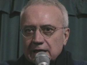 Paolo Flores D'Arcais, uno dei sostenitori della Lista Tsipras