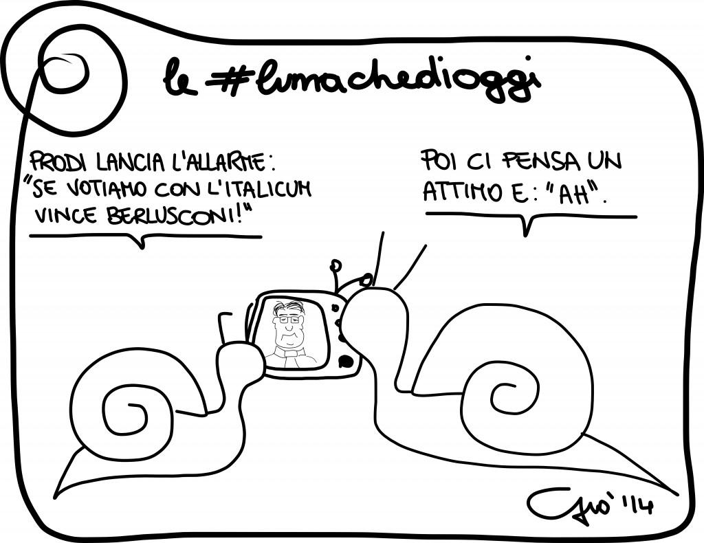 #lumachedioggi di Giovanni Laccetti del 5.2.2014