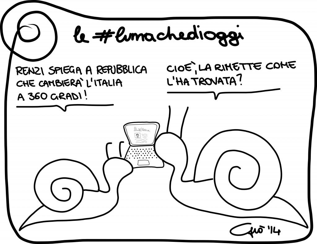 #lumachedioggi di Giovanni Laccetti del 4.2.2014