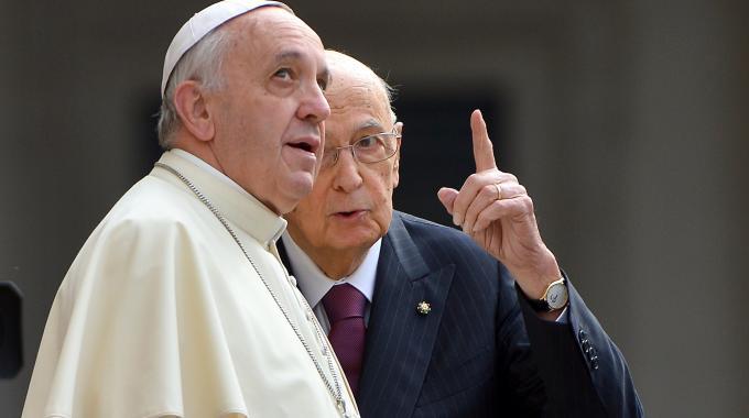 giovani e politica, papa e napolitano