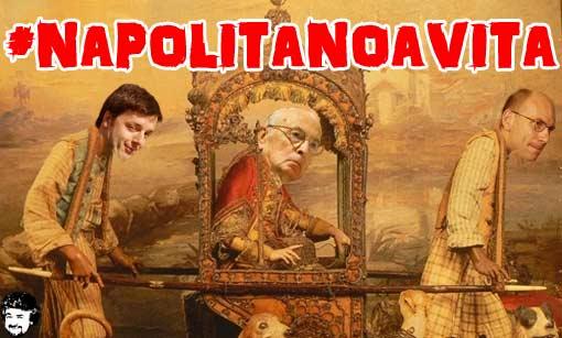 Grillo sbeffeggia Napolitano