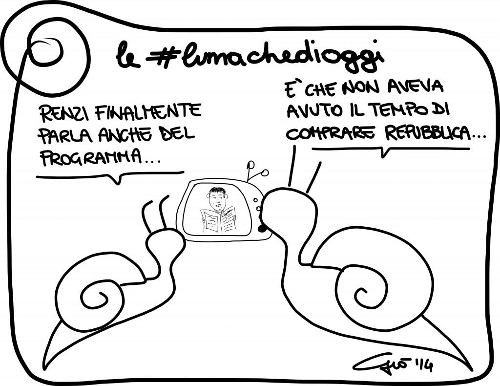 #lumachedioggi di Giovanni Laccetti del 19.2.2014