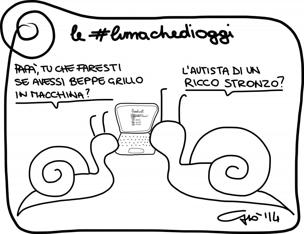 #lumachedioggi di Giovanni Laccetti del 2.2.2014