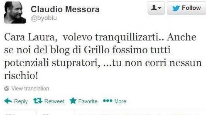 M5S, Claudio Messora prima attacca e poi si scusa con Laura Boldrini