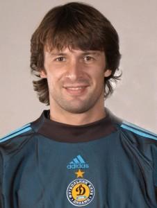 Oleksandr Shovkovsk è il portiere della Dinamo Kiev da oltre vent'anni.