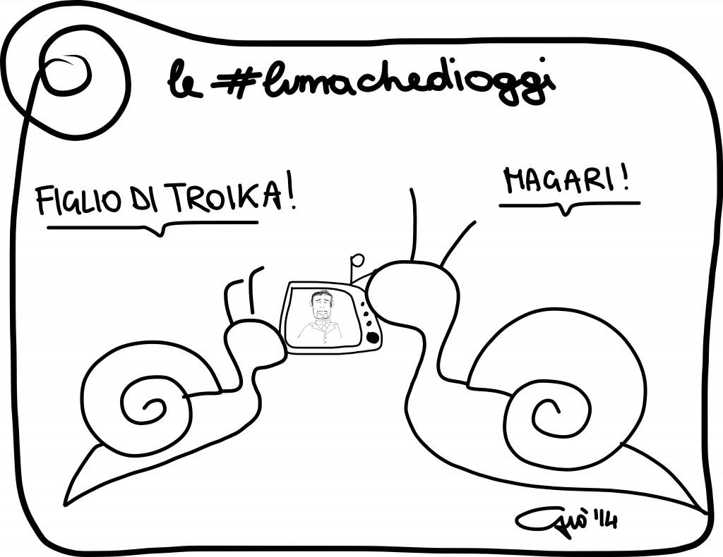 #lumachedioggi di Giovanni Laccetti del 26.2.2014