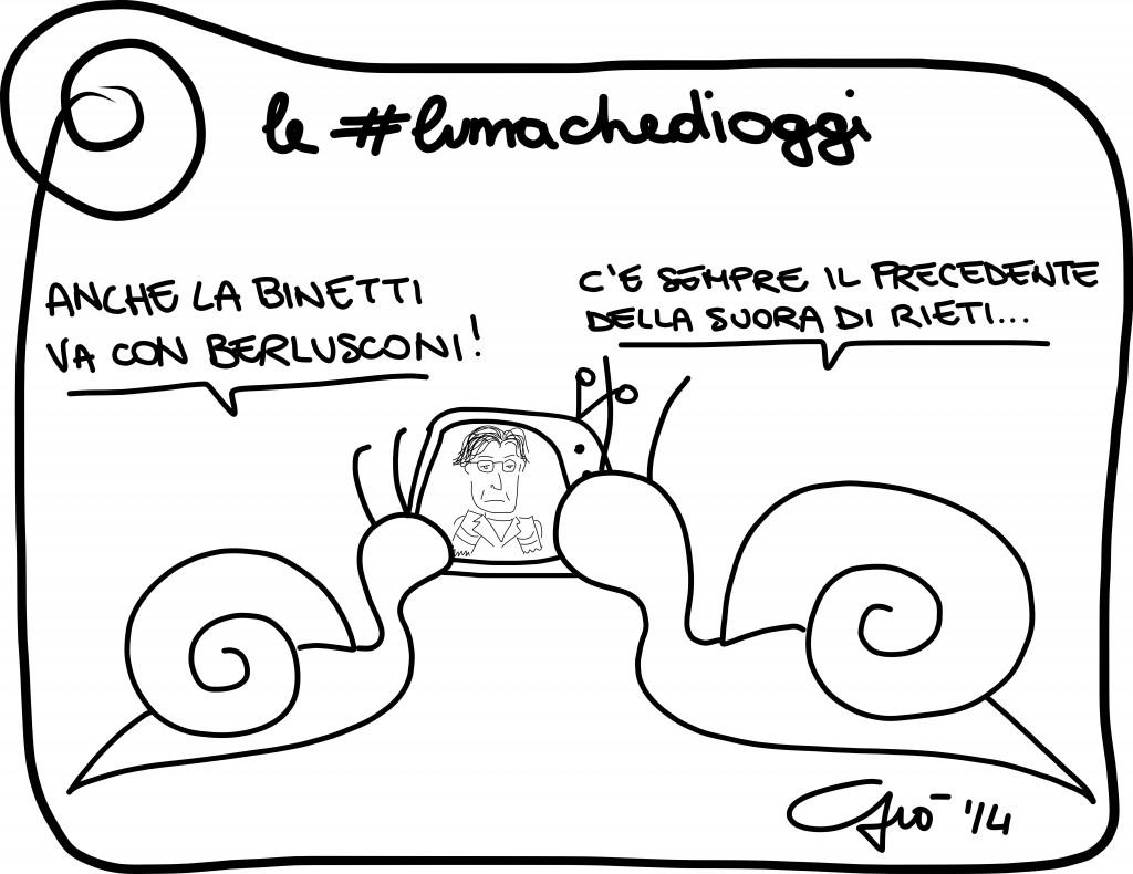 #lumachedioggi di Giovanni Laccetti del 7.2.2014
