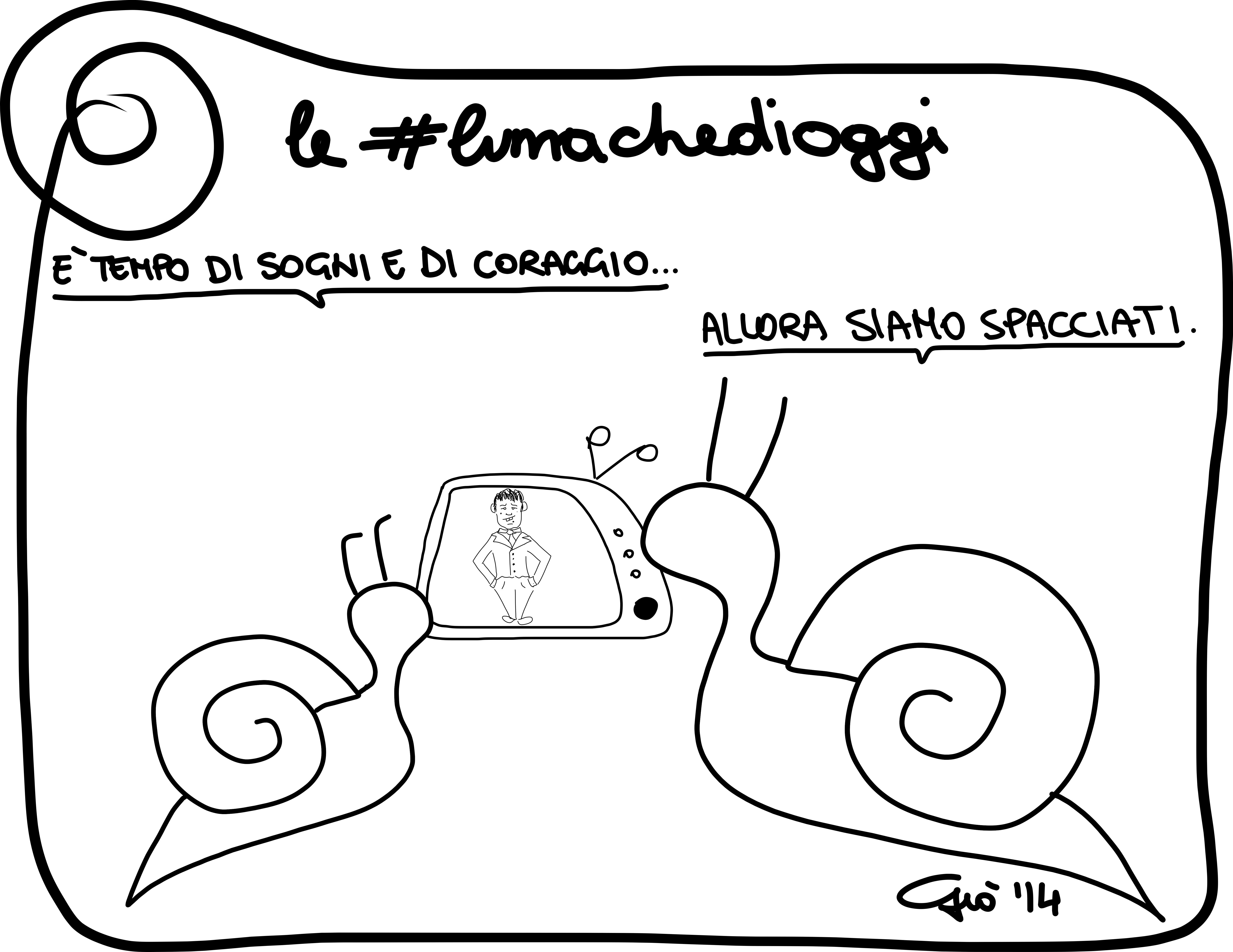 #lumachedioggi di Giovanni Laccetti del 25.2.2014