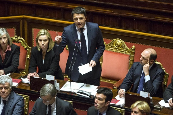 premier renzi parlamento