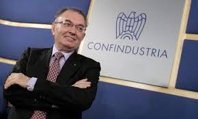Il presidente di Confindustria Squinzi