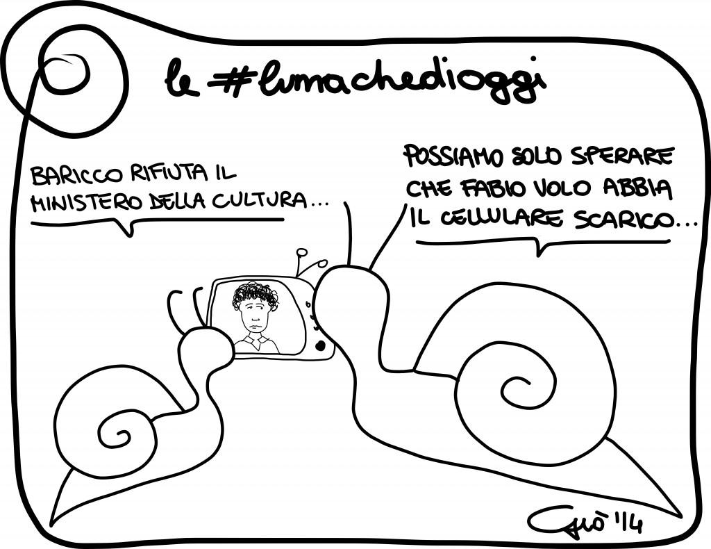 #lumachedioggi di Giovanni Laccetti del 16.2.2014