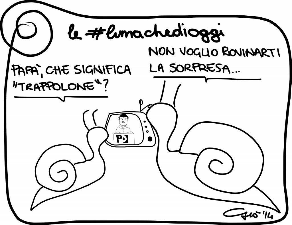 #lumachedioggi di Giovanni Laccetti del 12.2.2014