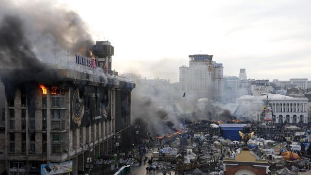 Ucraina sull orlo della guerra civile termometro politico - La porta di kiev ...