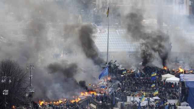 ucraina in fiamme e guerra civile