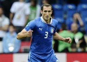 Giorgio Chiellini, 67 presenze in azzurro, è il pomo della discordia fra la federazione e la Juventus