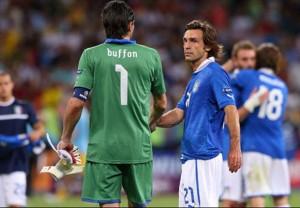 Pirlo e Buffon, più di 200 presenze in nazionale in due, quasi sicuramente non ci saranno ad Euro 2016