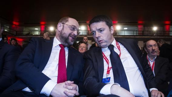Renzi e Schulz