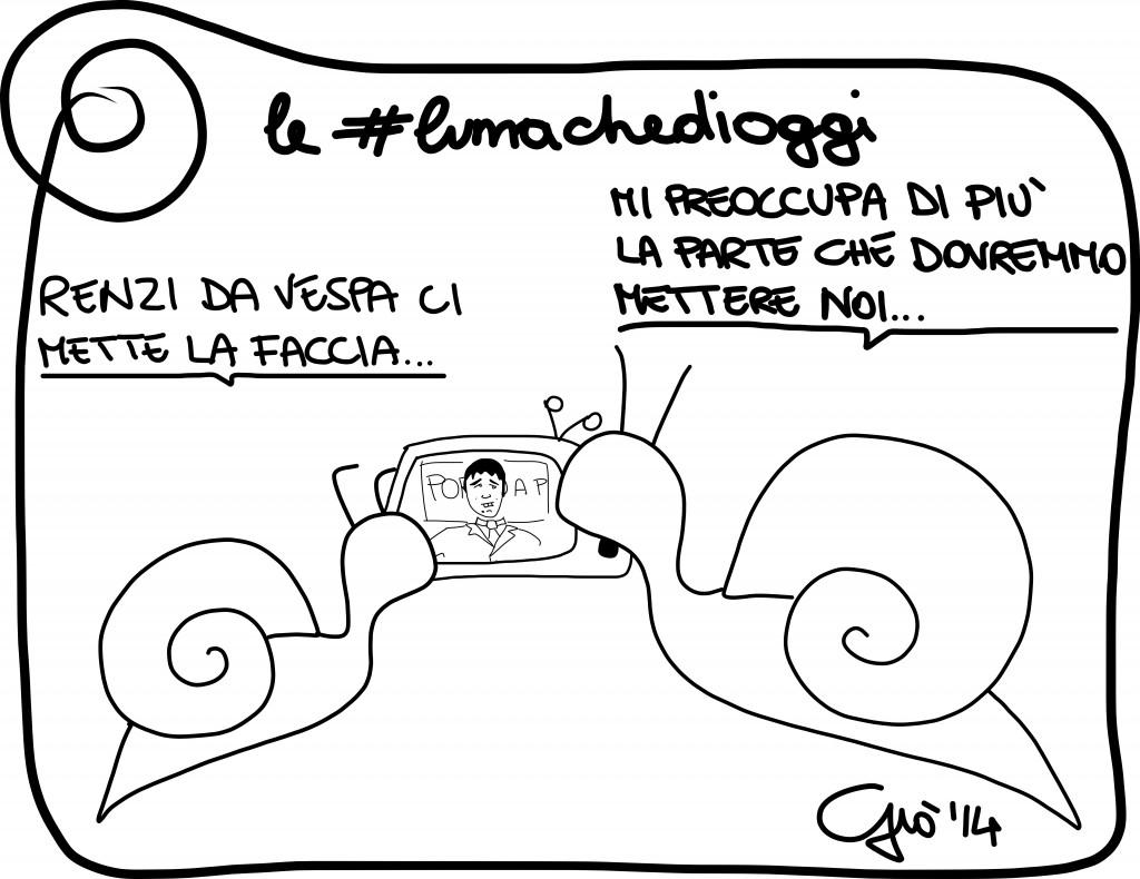 #lumachedioggi di Giovanni Laccetti del 14.3.2014