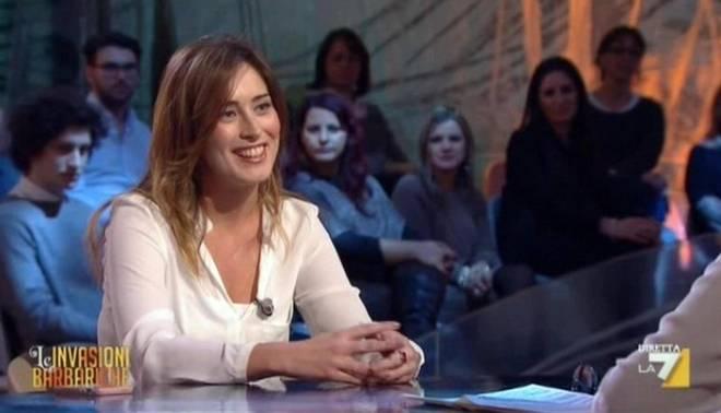 maria elena boschi intervistata da daria bignardi