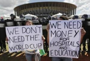 brasile protesta
