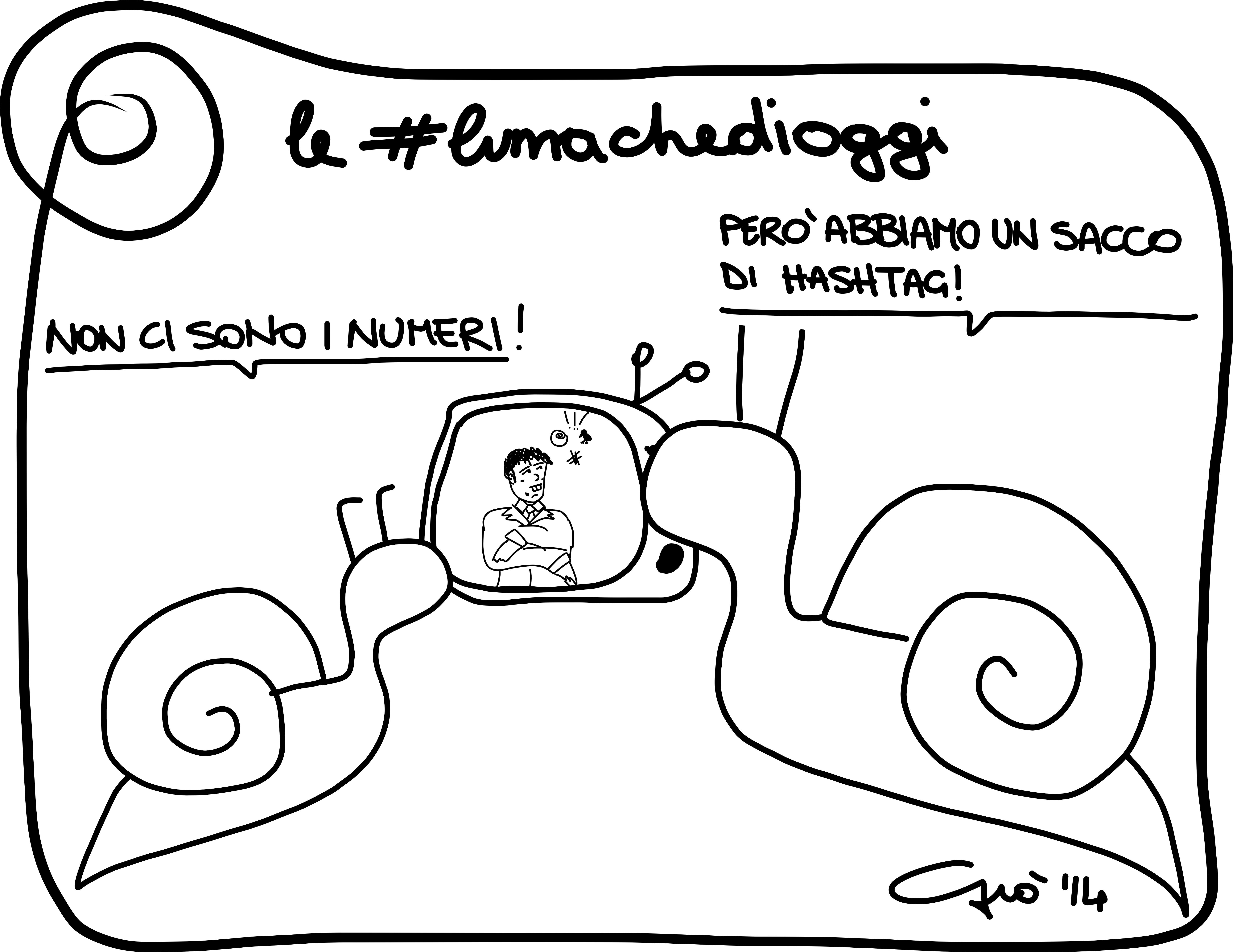 #lumachedioggi di Giovanni Laccetti del 31.3.2014