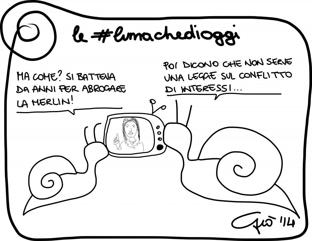 #lumachedioggi di Giovanni Laccetti del 12.3.2014