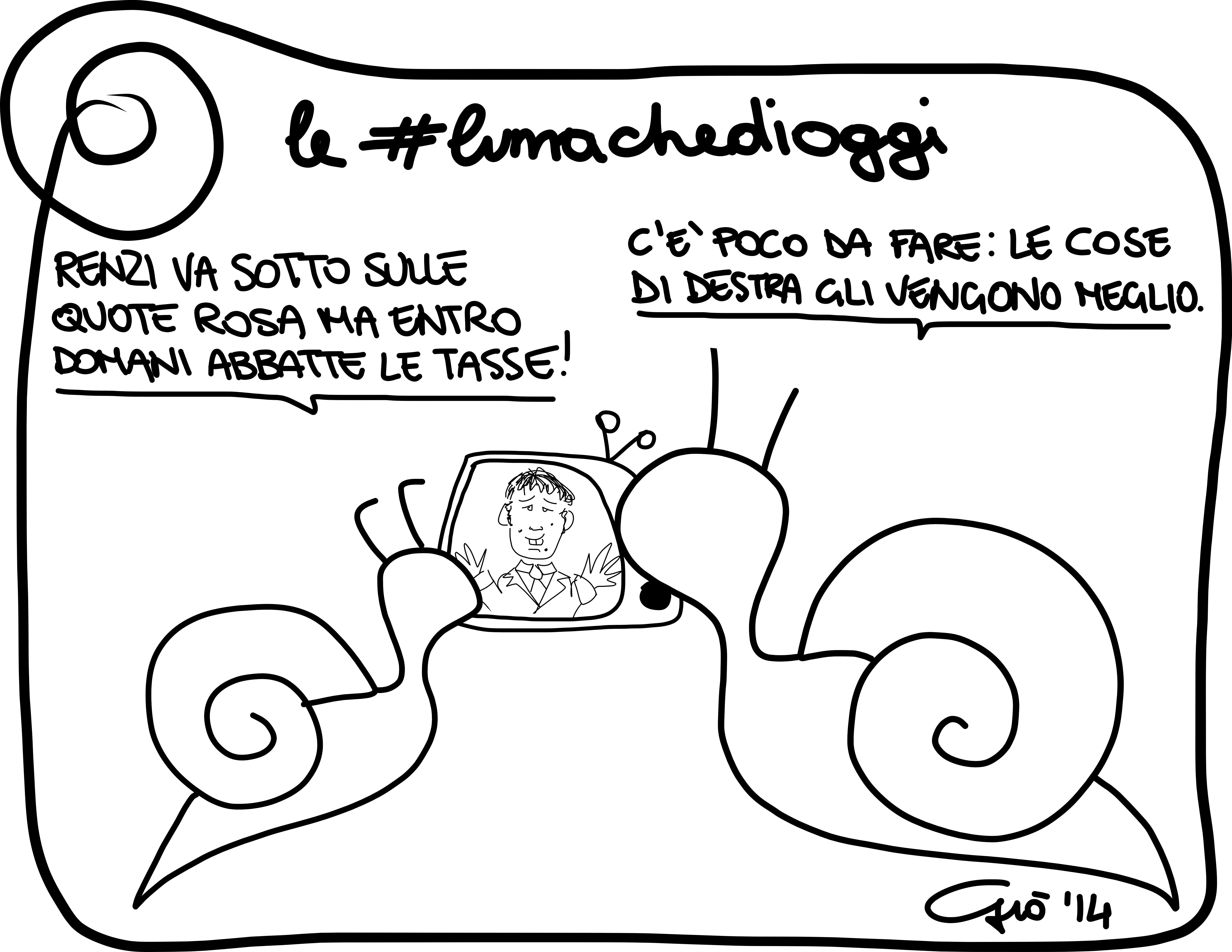 #lumachedioggi di Giovanni Laccetti del 11.3.2014