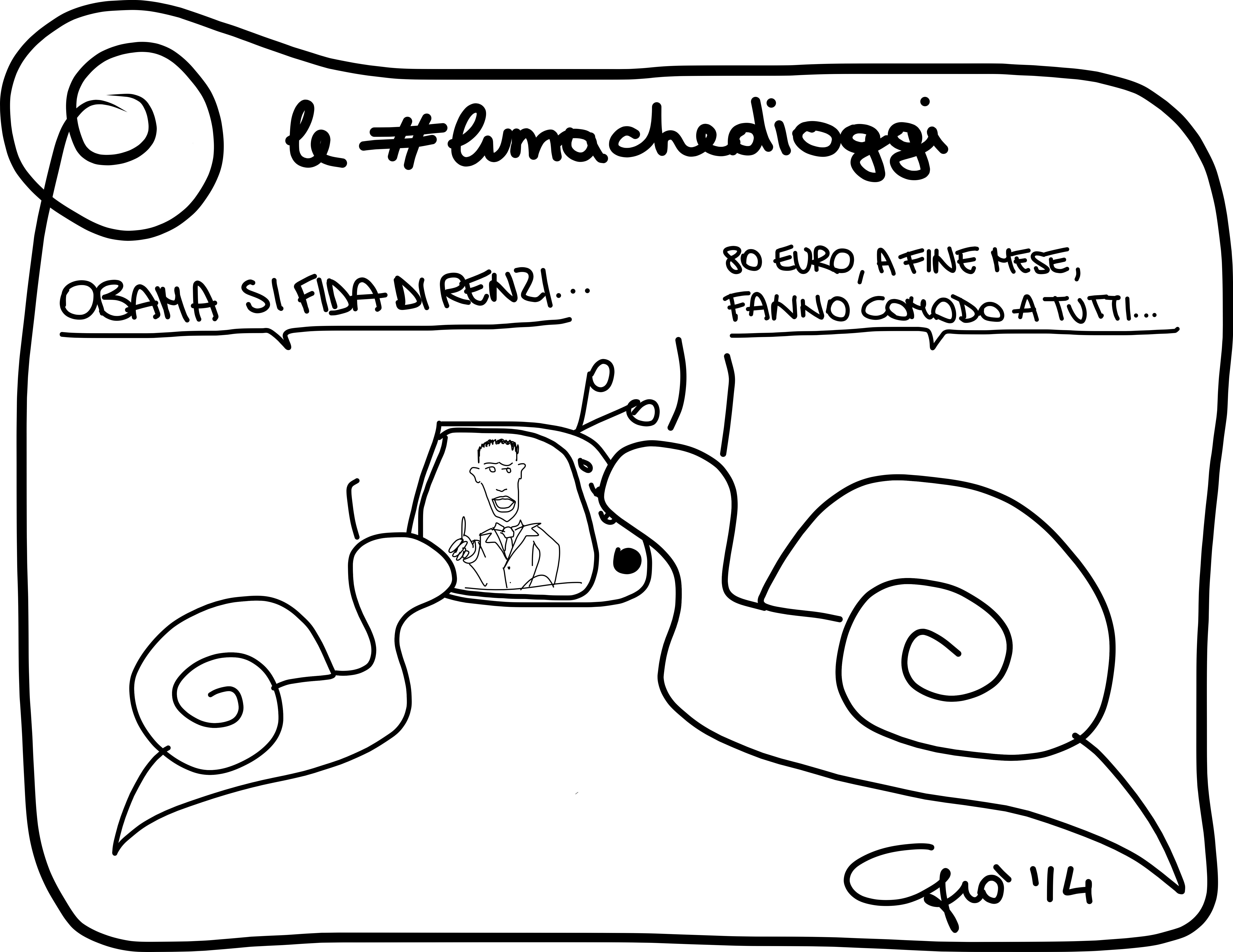 #lumachedioggi di Giovanni Laccetti del 28.3.2014