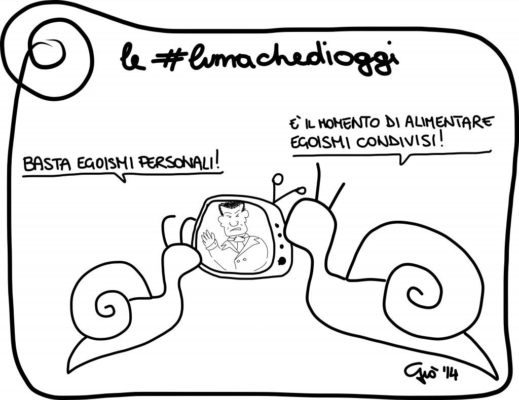 #lumachedioggi di Giovanni Laccetti del 25.3.2014