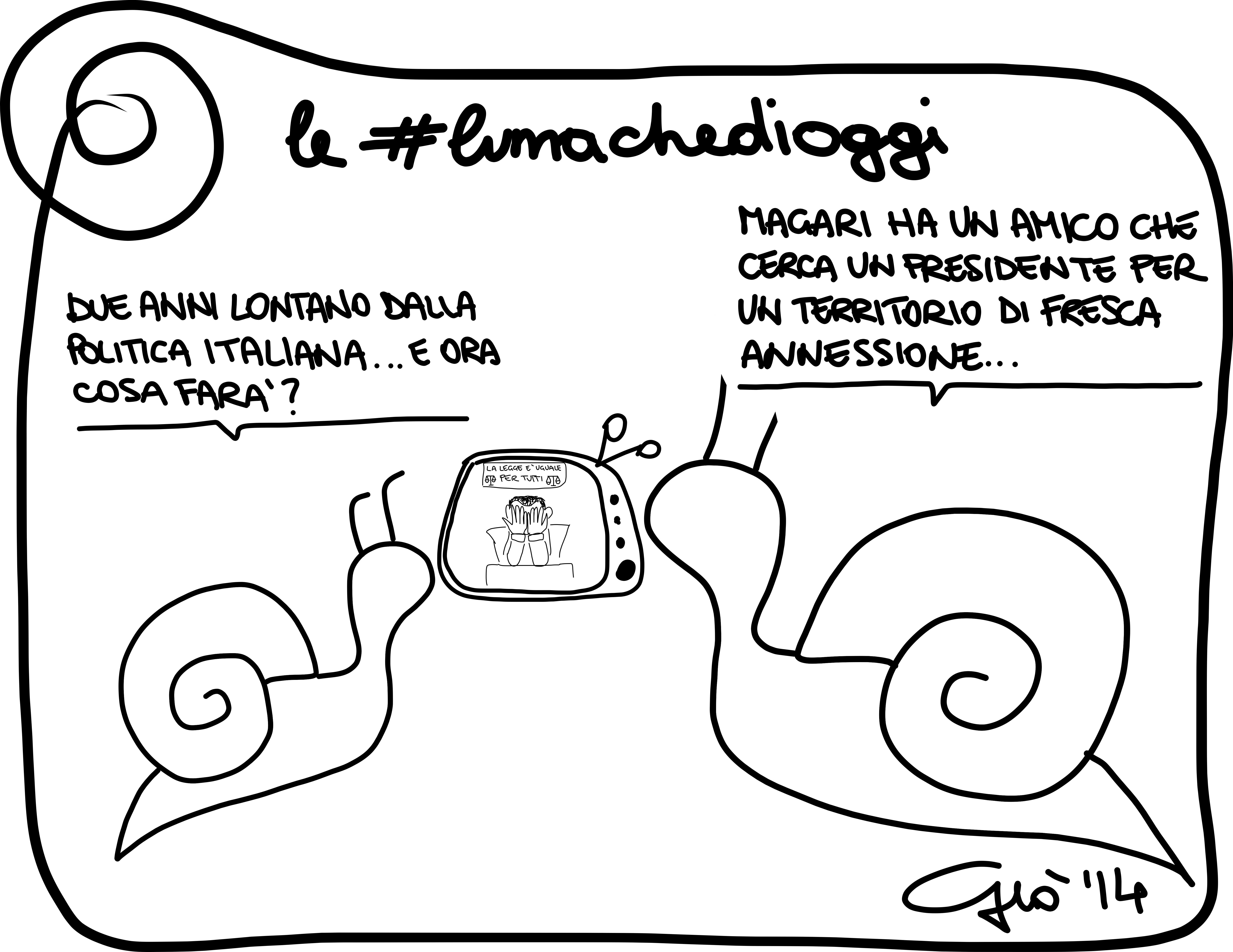 #lumachedioggi di Giovanni Laccetti del 19.3.2014