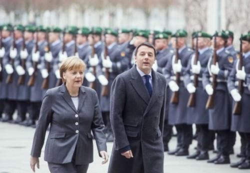 incontro italia germania renzi merkel