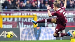Ciro Immobile, punta fra Torino e Juventus, è già giunto a quota 16 reti in Serie A