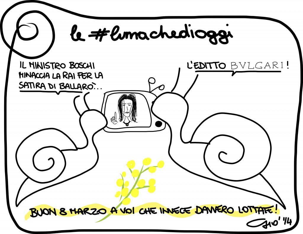 #lumachedioggi di Giovanni Laccetti del 8.3.2014