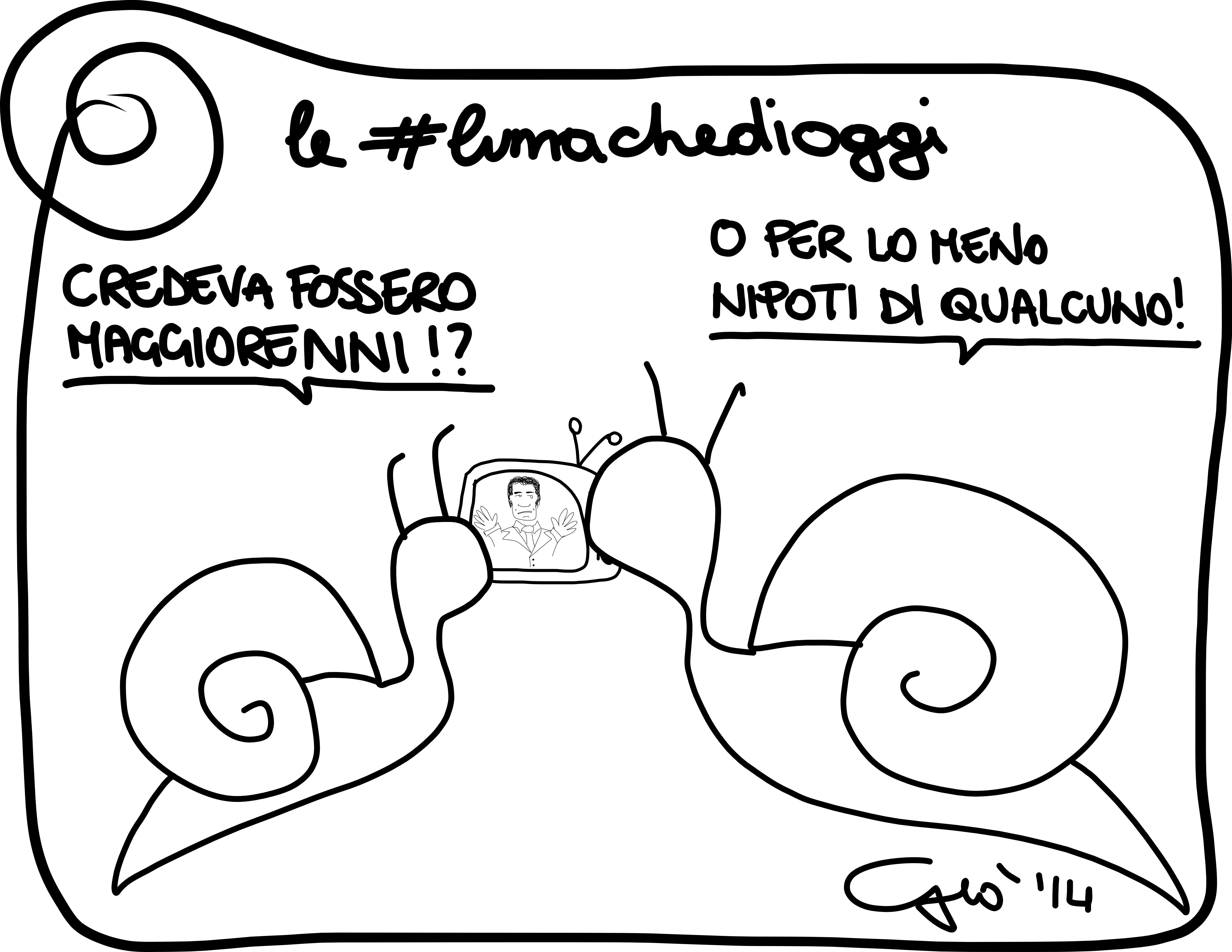 #lumachedioggi di Giovanni Laccetti del 15.3.2014